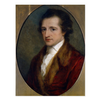 Johann Wolfgang von Goethe, 1775 Postcard