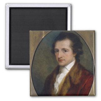 Johann Wolfgang von Goethe, 1775 Square Magnet