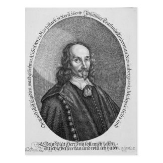 Johannes Erasmus Kindermann Postcard