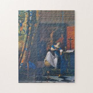 Johannes Vermeer - Allegory of Faith puzzle