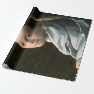 Johannes Vermeer Study of a Young Woman Wrapping Paper