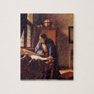 Johannes Vermeer - The Geographer puzzle