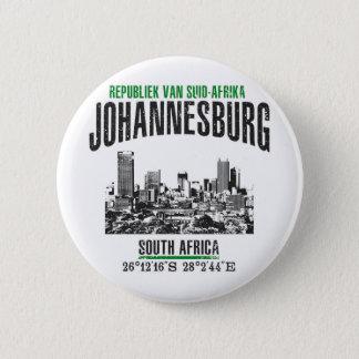Johannesburg 6 Cm Round Badge