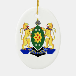 Johannesburg Coat of Arms Ceramic Ornament