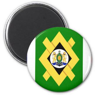 Johannesburg Flag Magnet