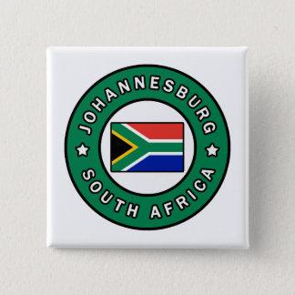 Johannesburg South Africa 15 Cm Square Badge