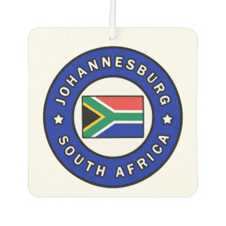Johannesburg South Africa Car Air Freshener