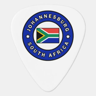 Johannesburg South Africa Guitar Pick
