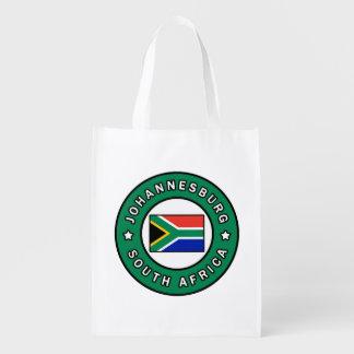Johannesburg South Africa Reusable Grocery Bag