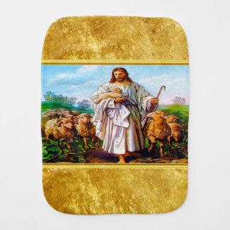 John 10:7-21 I Am the Good Shepherd Burp Cloth