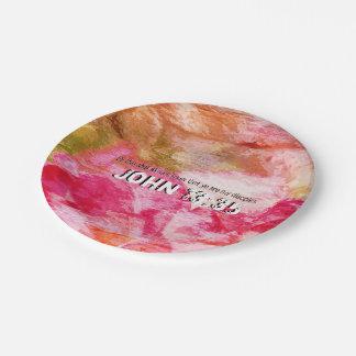 John 13:35 paper plate