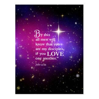 John 13:35 postcard