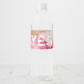 John 13:35 water bottle label