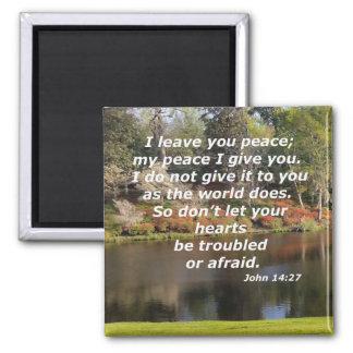 John 14:27 magnet