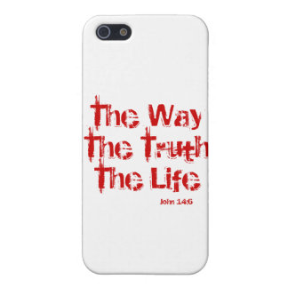 John 14:6 iPhone 5C Matte Finish Case iPhone 5/5S Case