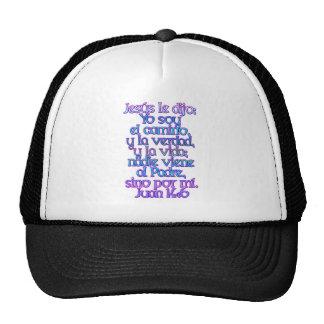 John 14:6 Spanish Cap