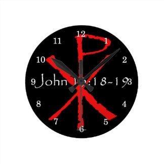 John 15:18-19 wallclocks