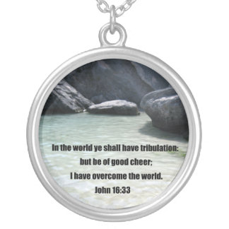 John 16:33 pendant