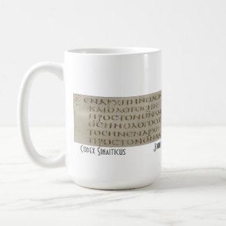 John 1 in Greek Coffee Mug