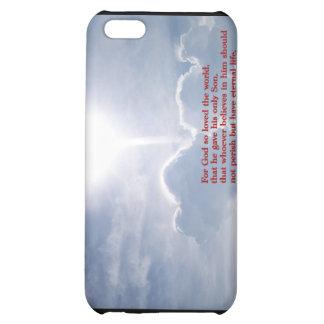 John 3:16 Clouds iPhone 5C Covers