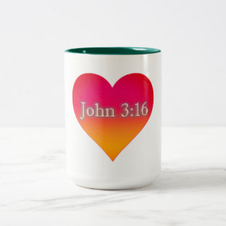 John 3:16 Coffe Mug