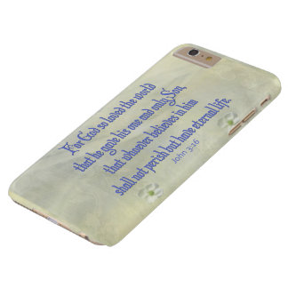 John 3:16 Dogwood Barely There iPhone 6 Plus Case