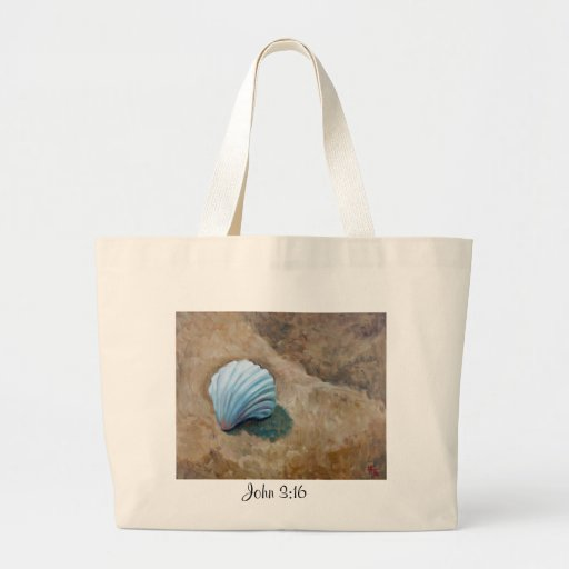 """John 3:16"" Fine Art Gifts by Hilary J. England Tote Bags"