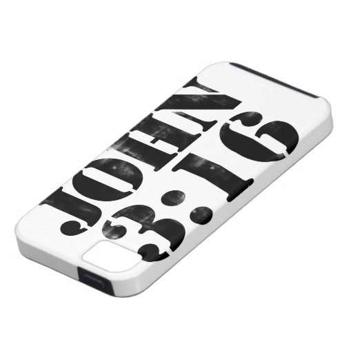 John 3:16 for GOD iPhone 5 Cover