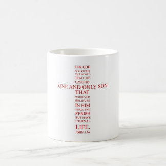 John 3:16 - For God so loved the world Coffee Mug