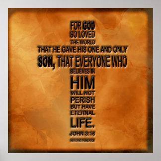 John 3:16 Print