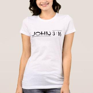 John 3:16 - Redeemed by Love T-Shirt
