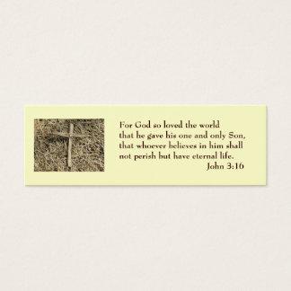 John 3:16 Salvation Card