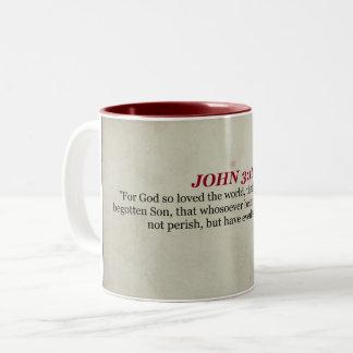 John 3:16 scripture mug