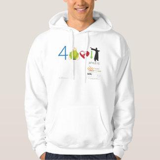 John 3:16 v1F - Basic Hoodie