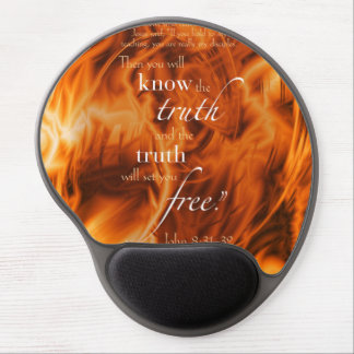 John 8:31-32 gel mouse pad