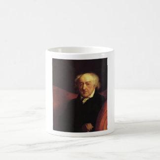 john adams basic white mug