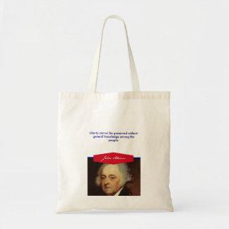 John Adams Budget Tote Budget Tote Bag