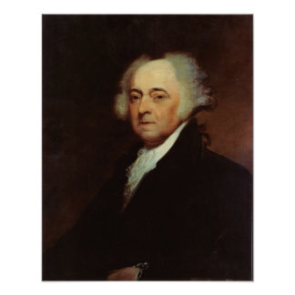 John Adams by  Asher B Durand Poster