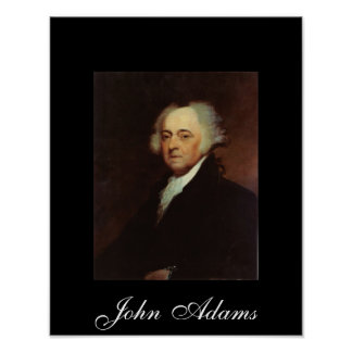 John Adams by Asher B Durand Poster