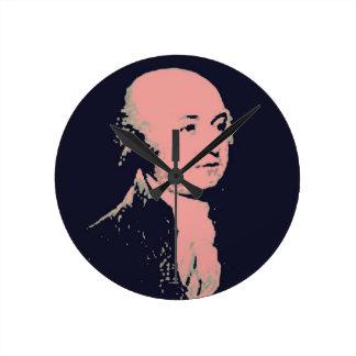 John Adams Round Wallclock