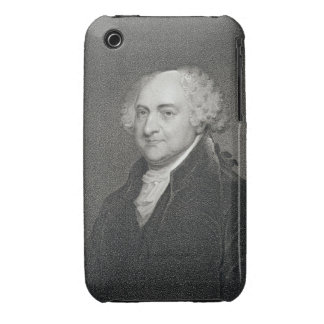 John Adams, engraved by James Barton Longacre (179 iPhone 3 Case-Mate Cases