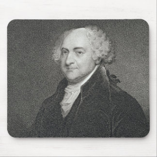 John Adams, engraved by James Barton Longacre (179 Mouse Pad