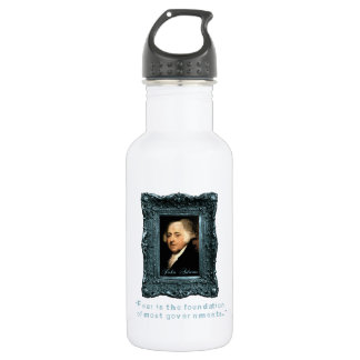 John Adams: Most Govts Based on Fear 532 Ml Water Bottle