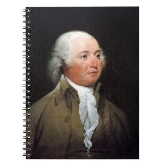 John Adams Spiral Note Book