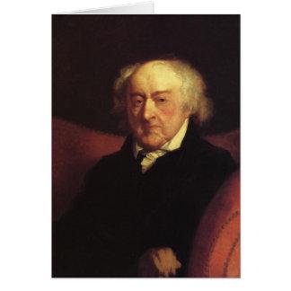 John Adams notecards Greeting Card
