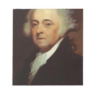 John Adams Notepad