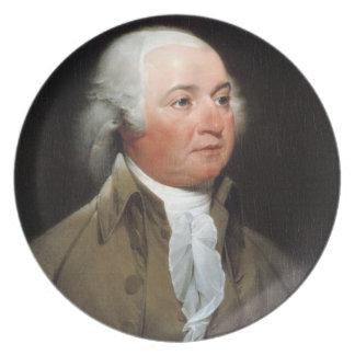 John Adams Party Plate