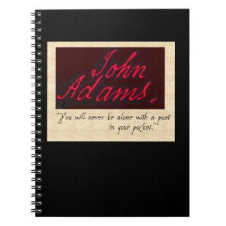john adams poet journal