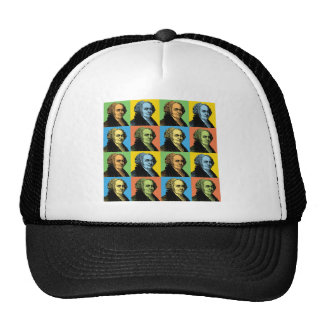 John Adams Pop-Art Hats