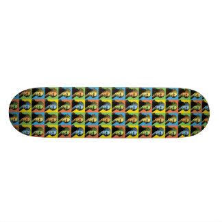 John Adams Pop-Art Custom Skate Board